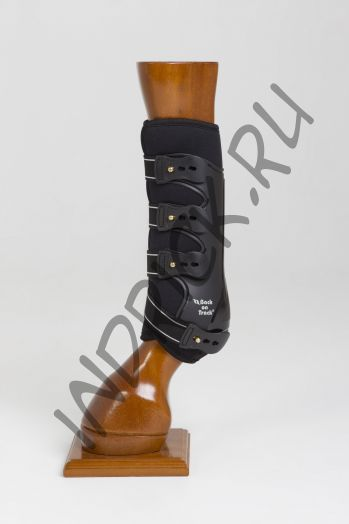 Ногавки Back on Track Royal Work Boots Black передние