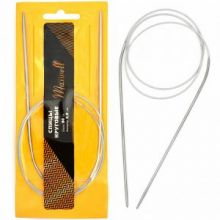 Спицы для вязания круговые Maxwell Gold, металл арт.80-30 Ø3,0 мм /80 см