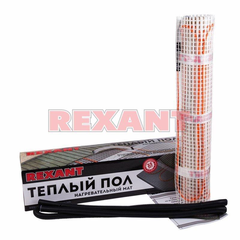 Теплый пол Rexant нагревательный мат 51-0505