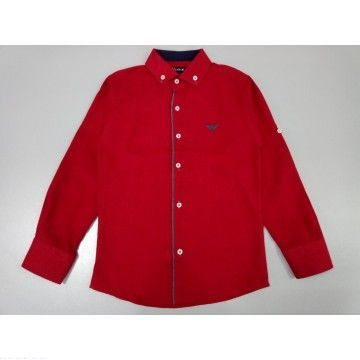 "Рубашка ""Классика"" бордовая"