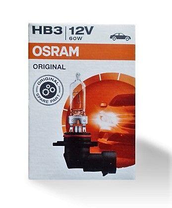 Лампа HB3 12V (60W) P22d  Osram 9005