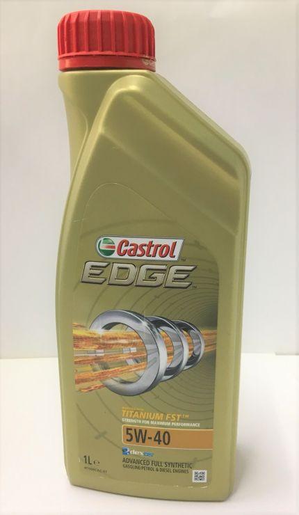 Масло моторное Castrol EDGE 5W40 1л