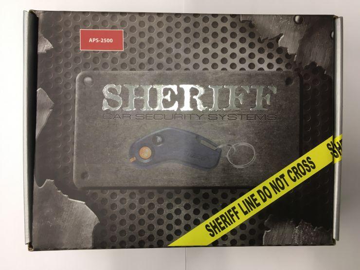 Сигнализация Sheriff APS ZX-2500 (без сирены)