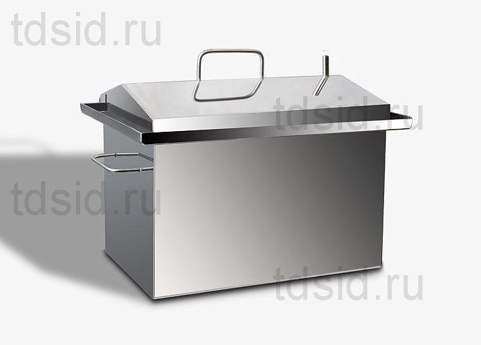 """Коптильня с гидрозатвором """"Домик"""" Добрый Жар"""