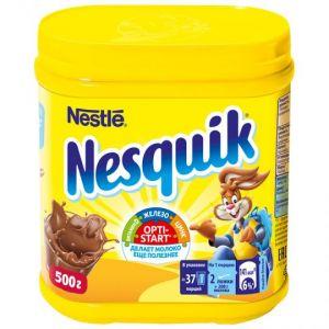 Какао-напиток Nestle Nesquik быстрорастворимый, 500г