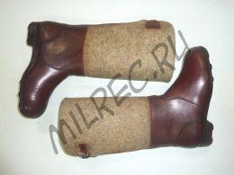 Сапоги немецкие, зимние (Filzstiefel), с утяжками на голенищах и чепрачными шайбами на подошвах,  реплика
