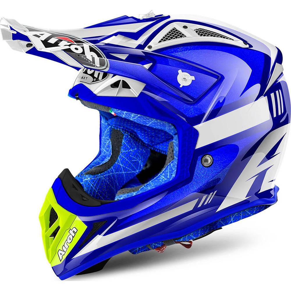 Airoh - Aviator 2.2 Cairoli Ottobiano Blue шлем, синий