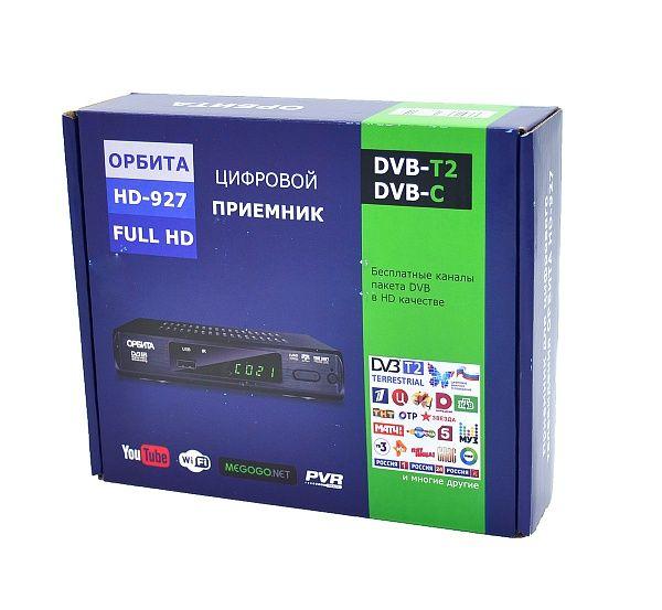 Ресивер DVB-T2/С Орбита HD927 +HD плеер 1080i
