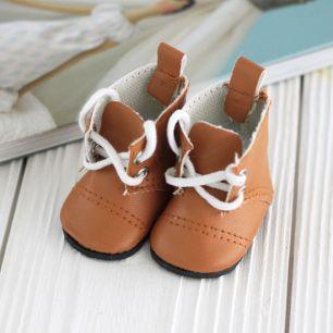 Обувь для кукол - сапоги 5 см (коричневые)