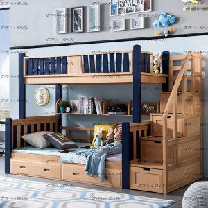 Кровать двухъярусная Домик №KV
