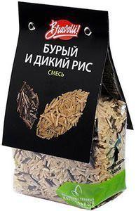 Bravolli Смесь бурый и дикий рис, 350 г