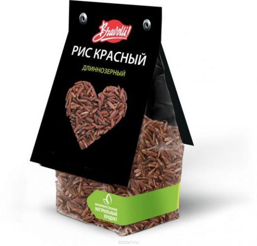 Bravolli Красный рис, 350 г