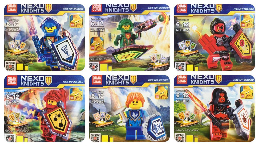 Nexo Knights в ассортименте