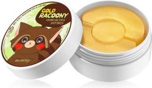 """SECRET KEY"" Gold Racoony Hydrogel Eye & Spot Patch Патчи для глаз гидрогелевые"