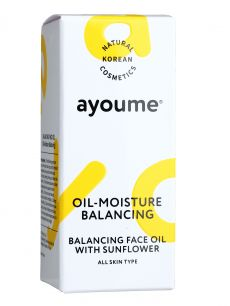 """АЮМ"" Balancing Face oil with Sunflower Масло для лица восстанавливающее  30мл"