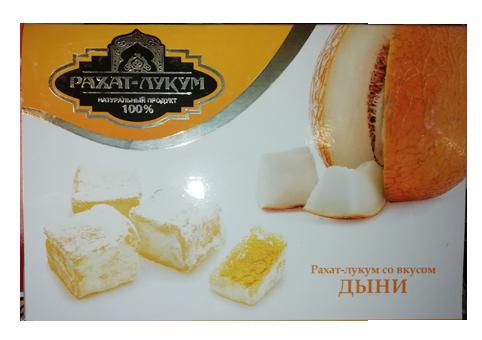 Рахат-лукум со вкусом дыни