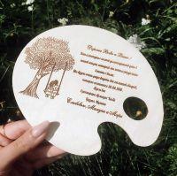 Свадебное приглашение палитра