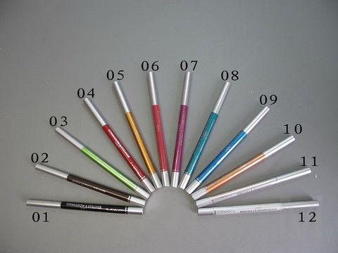 Набор карандашей 2 в 1 Eyeshadow & Eyeliner 12 шт.