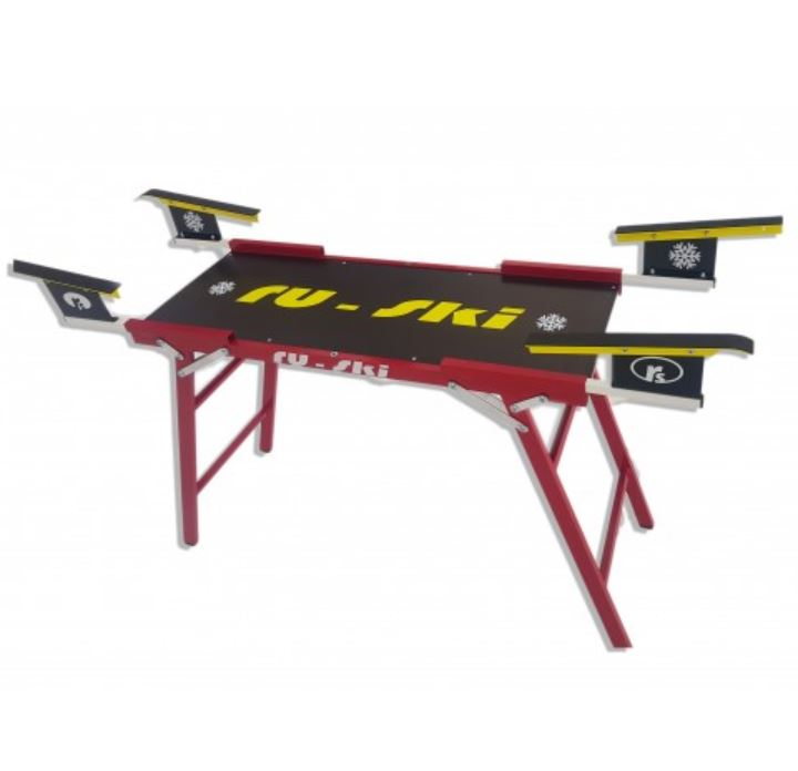 Стол RU-SKI для подготовки пары лыж быстросборный