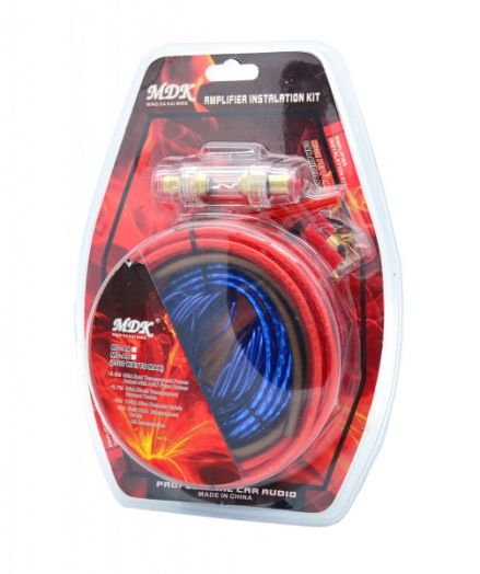 Набор кабелей для автоакустики MDK MD-A4 (4.5м)
