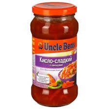 Соус Анкл Бенс Кисло-сладкий с овощами