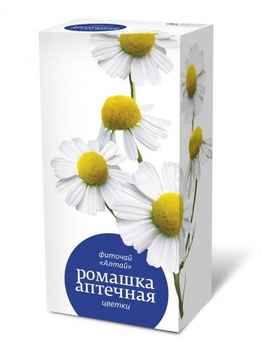 Фиточай «Алтай» «Ромашка аптечная. Цветки»