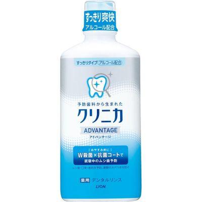 """LION Зубной эликсир """"Clinica Dental Advantage"""" свежесть дыхания аромат цитрус 450мл"""