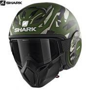 Шлем Shark Street-Drak Kanhji, Зелёный матовый