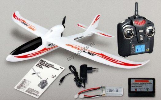 Радиоуправляемый планер Sky King 2.4G WL Toys F959