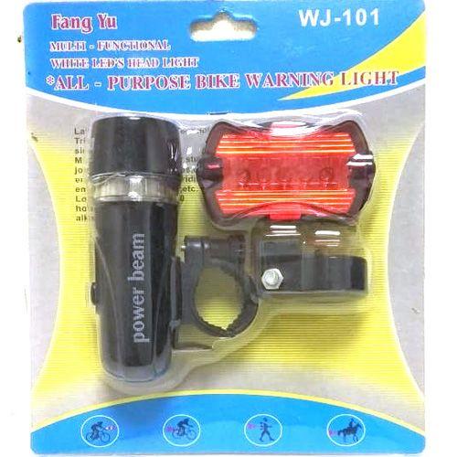 Комплект велосипедных фонарей WJ-101