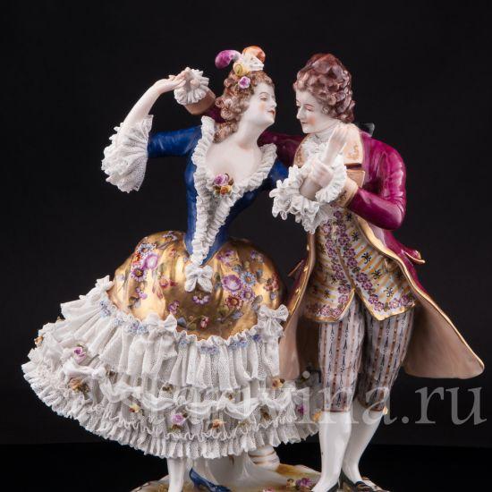 Изображение Танцующая пара, кружевная, Volkstedt, Германия, до 1935 г