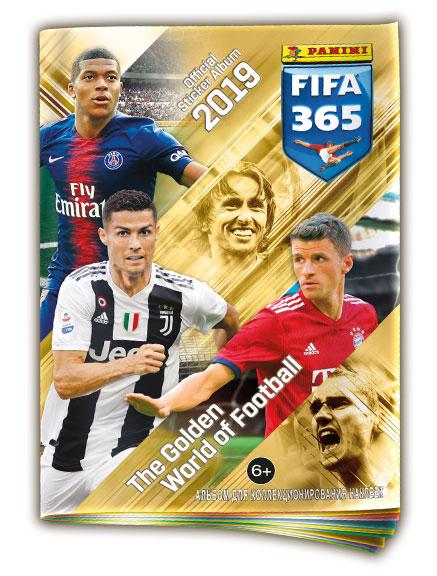 """Альбом """"Panini FIFA 365-2019"""""""