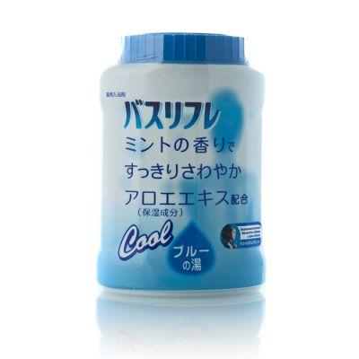 LION Chemical Соль для ванны с тонизирующим и освежающим эффектом с ароматом мяты