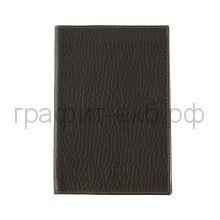 Обложка для авто-документов Grand 02-028-0723 гладкая коричневая кожа