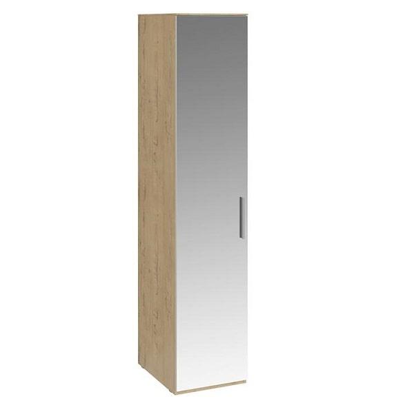 Шкаф для белья «Николь» с зеркальной дверью