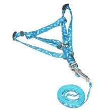 Поводок со шлейкой для кошек и собак Dog Chain, Голубой