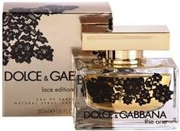Dolce & Gabbana The One Lace Edition, 75 мл парфюмерная вода