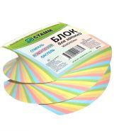 Блок для записей, 90х90х50 мм, 5 цветов, спиральный (арт. БС12)