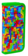"""Пенал школьный """"Лабиринт"""", 19х9 см, 1 отделение, ламин. картон (арт. 850906)"""