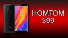 Смартфон  HomTom S99 64 Гб 6200 мА*ч 5.5