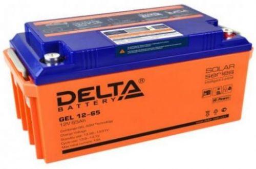 Аккумуляторная батарея GEL 12-65