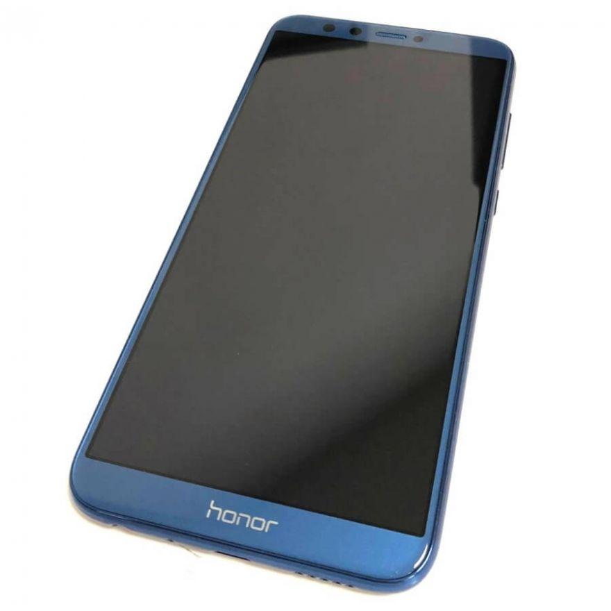 Дисплей в сборе с сенсорным стеклом, корпусом и аккумулятором для Huawei Honor 9 Lite (Original)