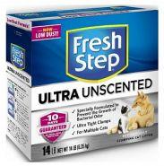 Fresh Step Тройной контроль запахов для кошачьего туалета комкующийся 6,35кг