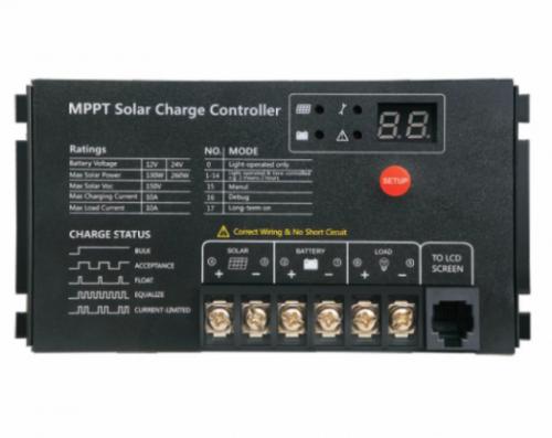 Контроллер заряда МРРТ2410