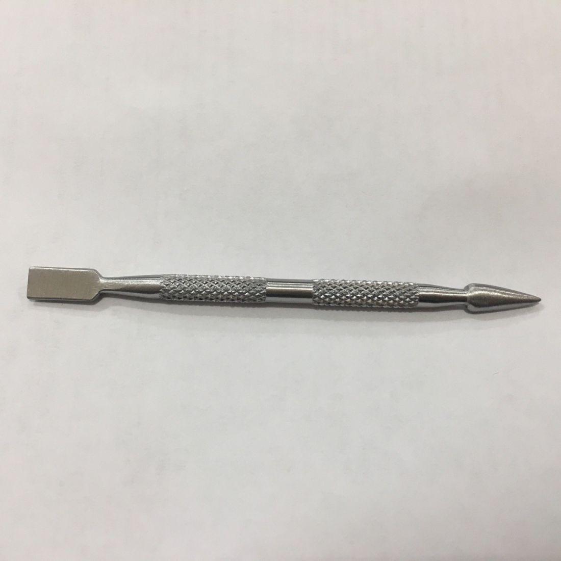 Пушер двухсторонний для маникюра и педикюра 10см  (4.8)