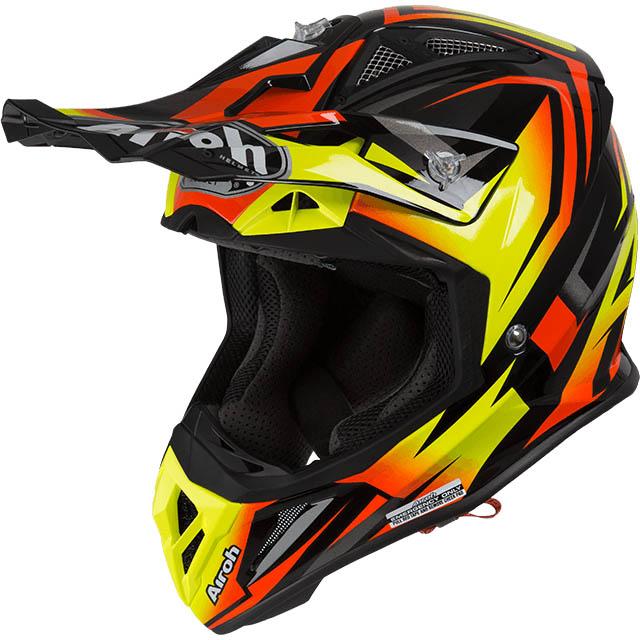 Airoh - Aviator 2.3 Fame Orange шлем, оранжевый