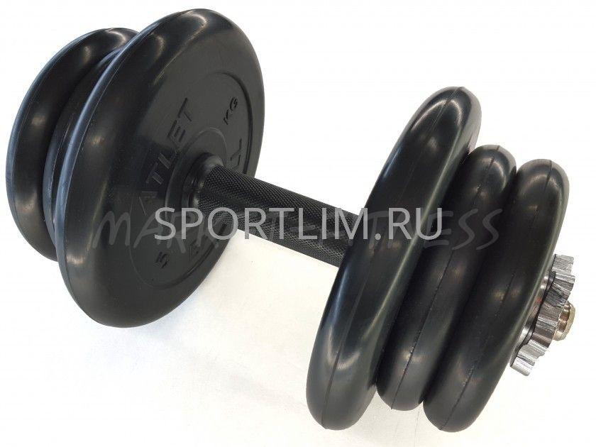 Гантель MB Barbell Atlet d.25мм 22.5 кг