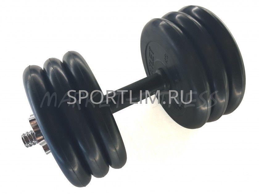 Гантель MB Barbell Atlet d.25мм 32.5 кг