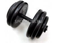 Гантель MB Barbell Atlet d.25мм 52.5 кг