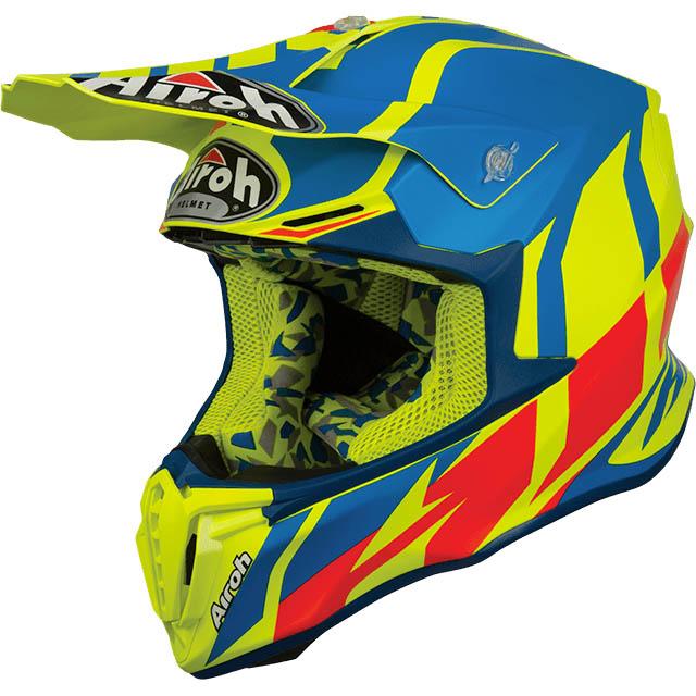 Airoh - Twist Great Azure Matt шлем, синий матовый